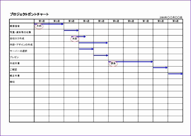 Download Gantt Chart Template Excel Djcxh Best Of フリーのexcelプロジェクト管理表 ガントチャートでの工程管理 まとめ 674476