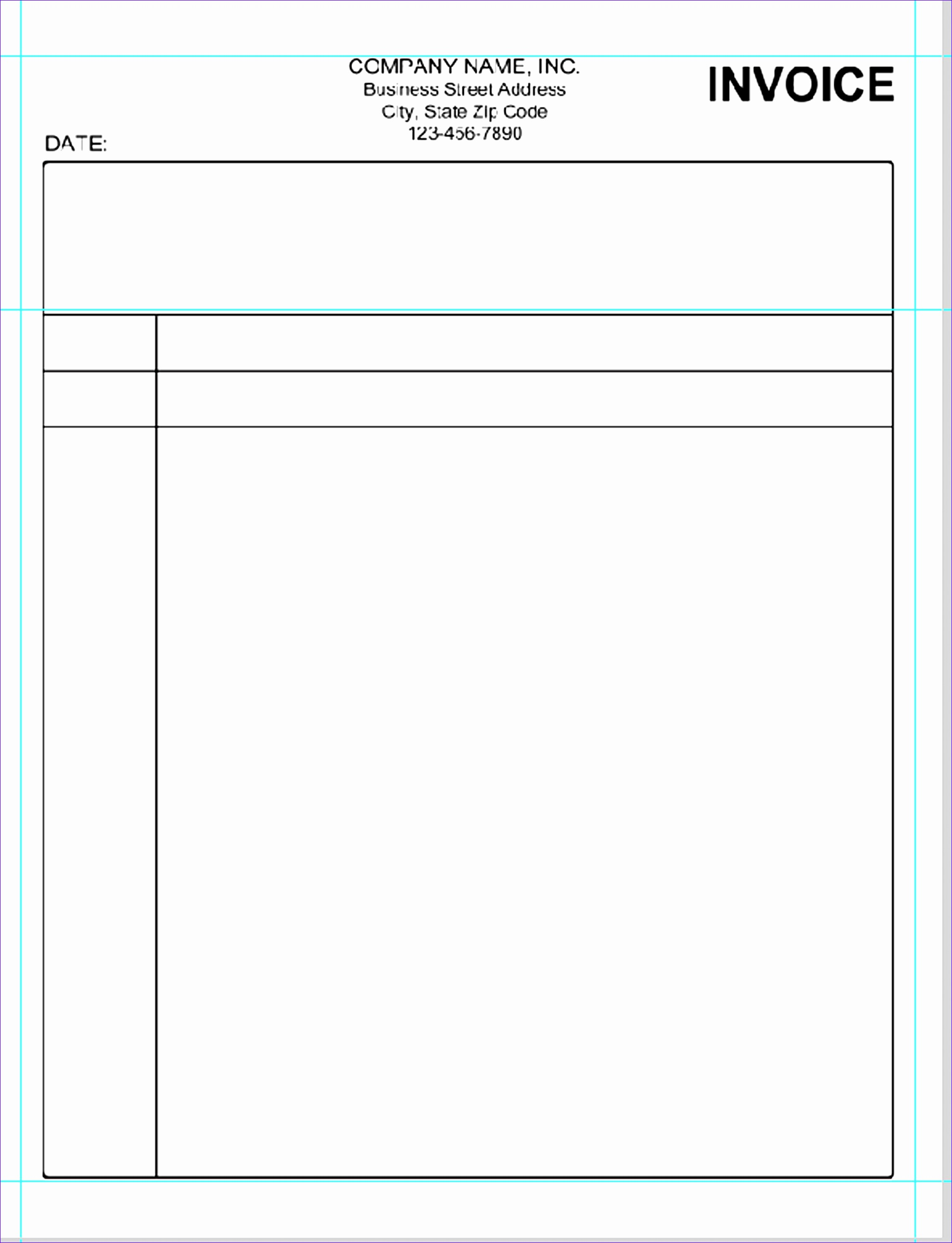 simple invoice template pdf 1880 19312522