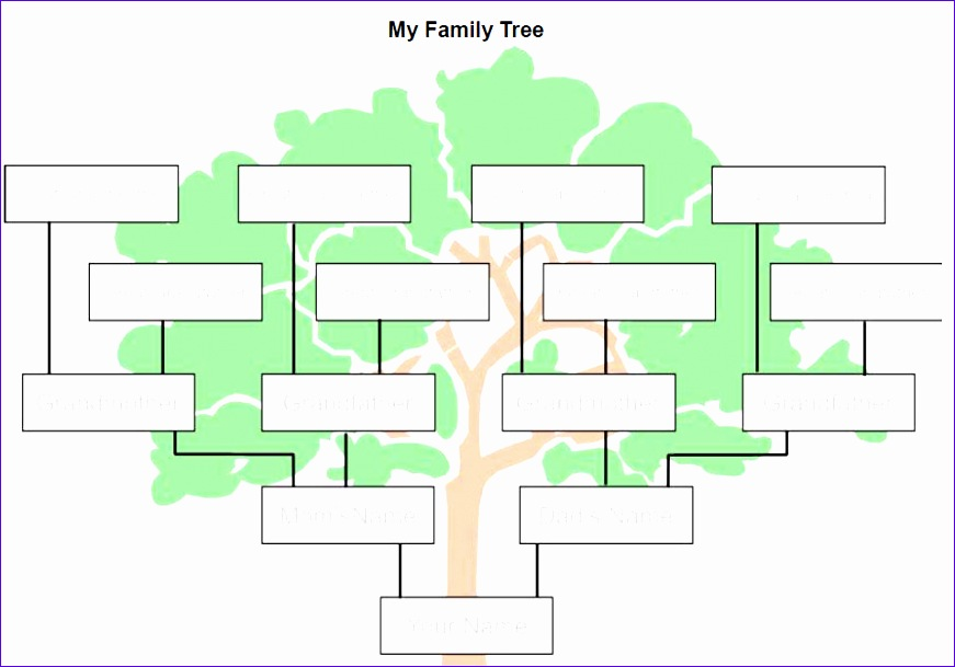 family tree template 871609