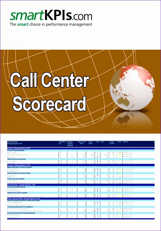 call center scorecard 673962