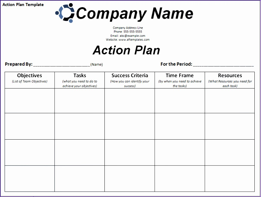 10 employee review template excel exceltemplates for Call center action plan template
