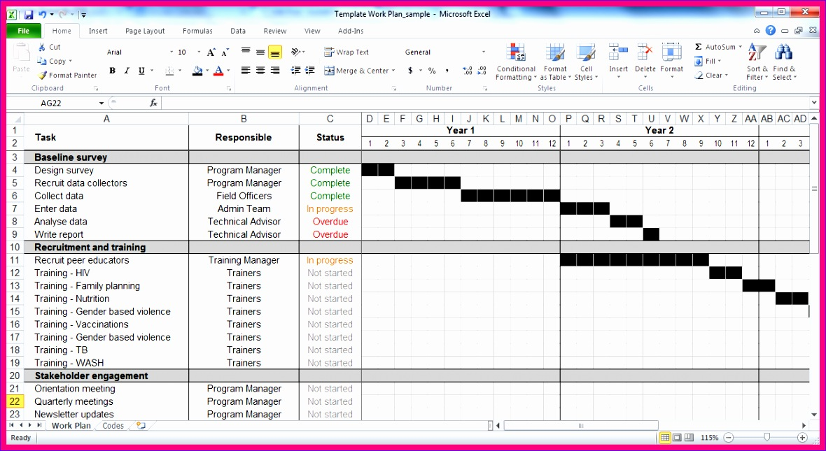 15 event planning template excel 1180645
