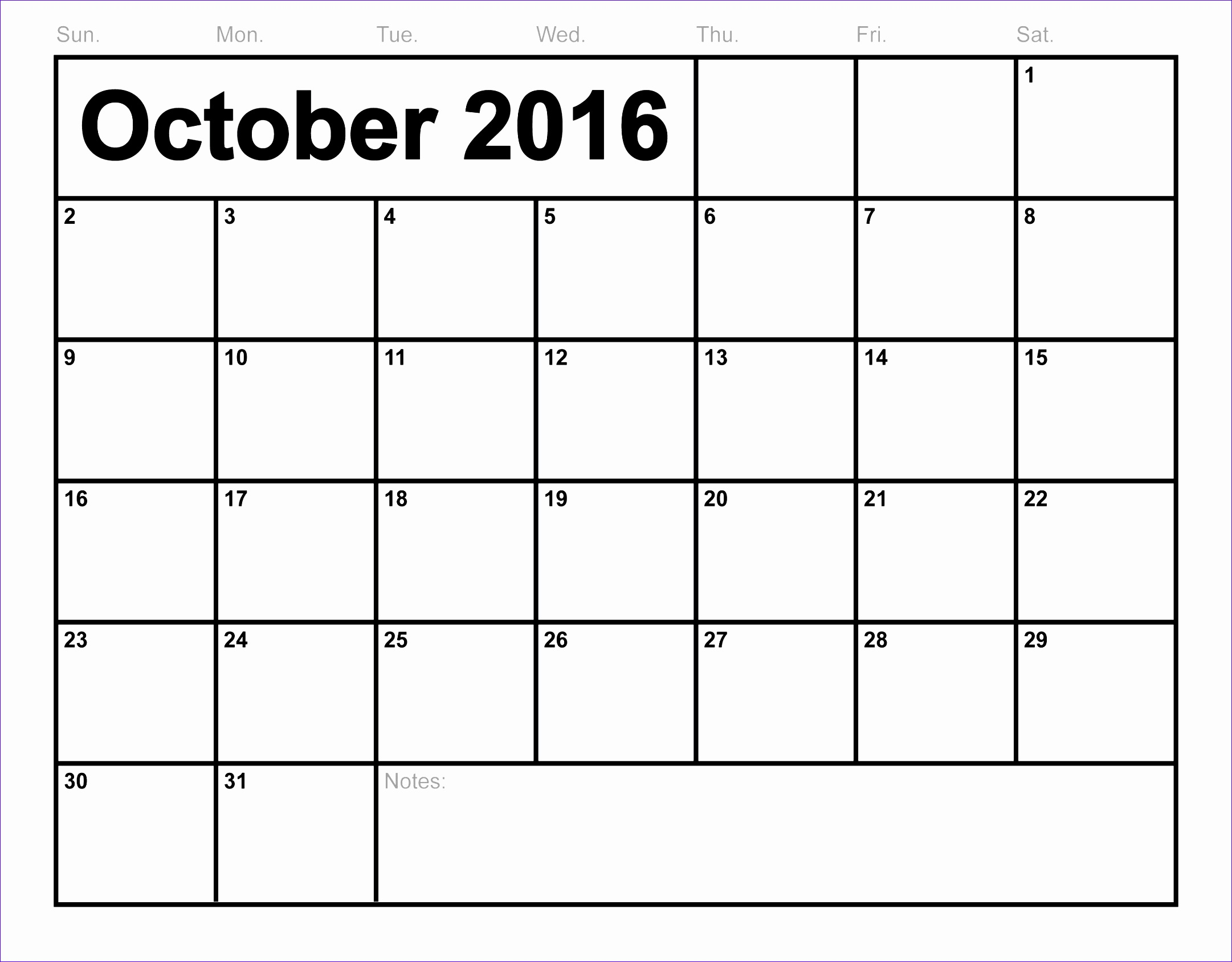 october 2016 calendar printable 464