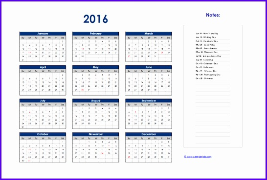 Annual Calendar Template Excel  Exceltemplates  Exceltemplates