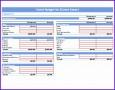 10 Bills Excel Template