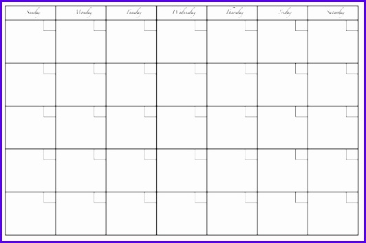 free excel blank Printable Calendar Templates formated 532354