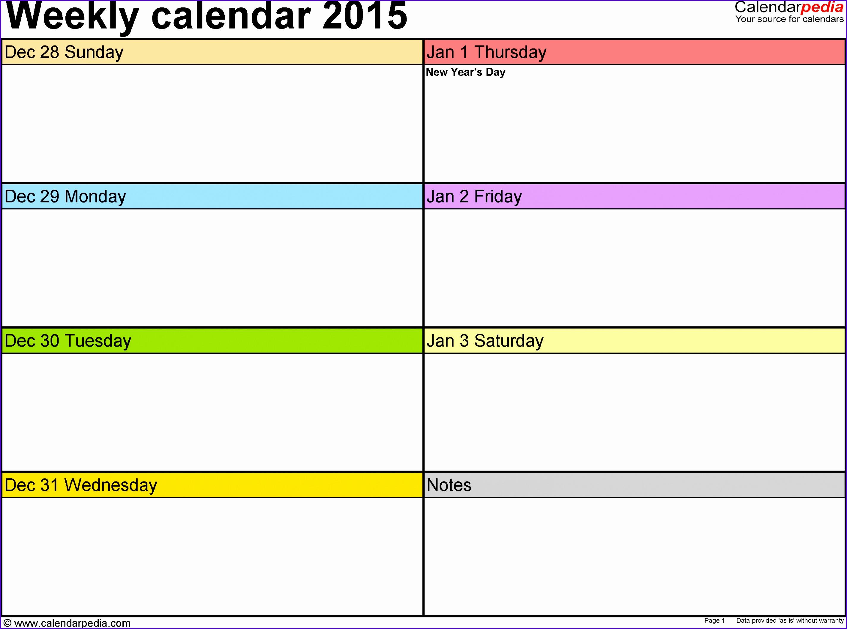 Free Weekly Calendar Template weekly calendar printablenew 28502116
