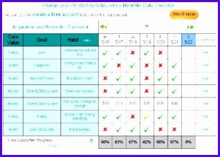 HabitMix Web Daily Checklist 318227