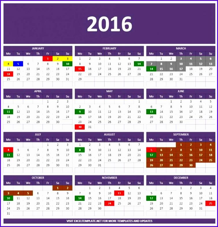excel spreadsheet calendar 2018 755786