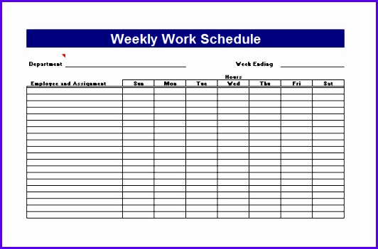 Work Plan Template 4 Free Word Pdf Documents Download