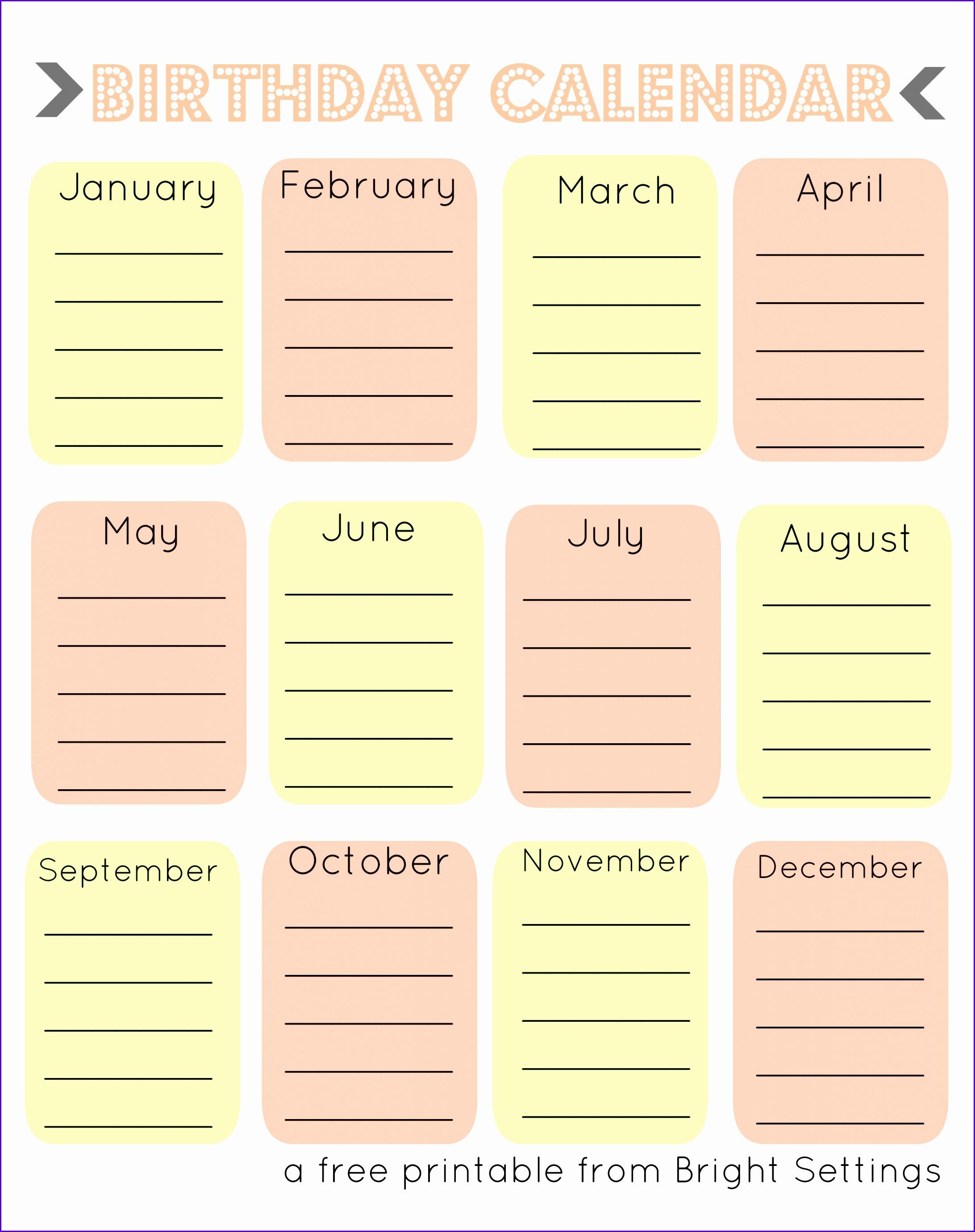 Printable 2018 Calendars PDF – Calendar 12 blank monthly calendar blank monthly calendar template blank monthly calendar 2017 printable blank 21842760