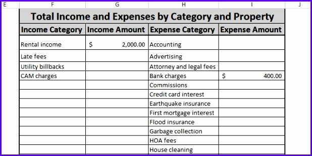Free Expense Tracking Spreadsheet For Your Rentals – We ve Updated 618310