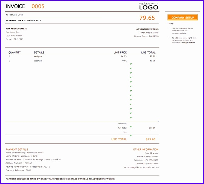 Free Invoice Template Best Templates For Excel Pdf Word Vat Invoice Template Uk 675607