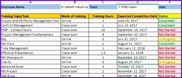 example free schedule template excel n7exz best of employee training