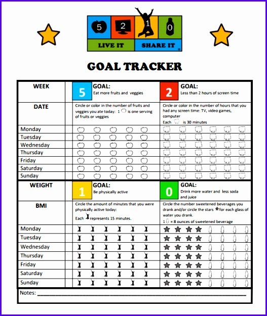Sample Goal Tracking 9 Documents In Pdf Excel 527625