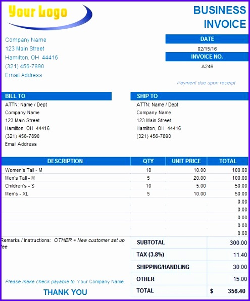 business invoice template2 495596