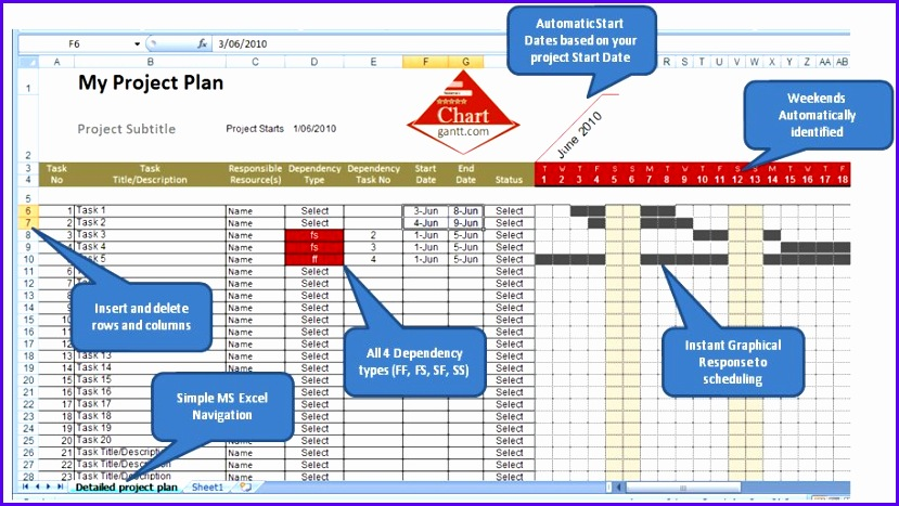 ms excel 2010 templates