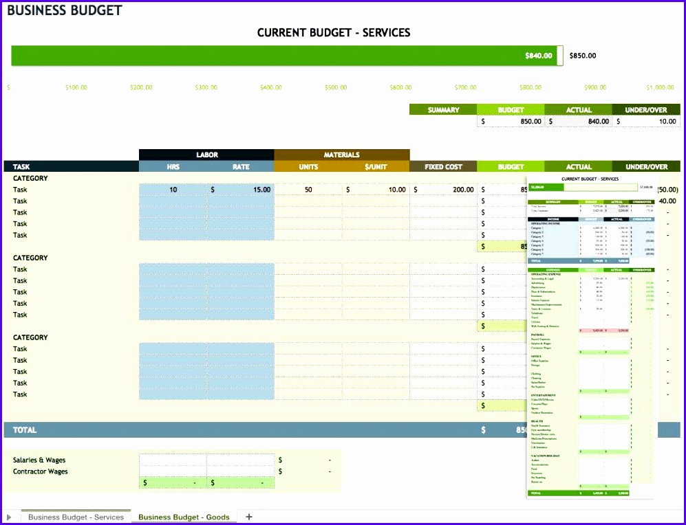 Simple Budget Template Excel  Exceltemplates  Exceltemplates
