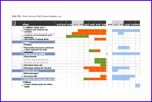 10 task tracking templates free sample example format task tracking excel 532357