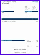Simple Invoice Template 136186