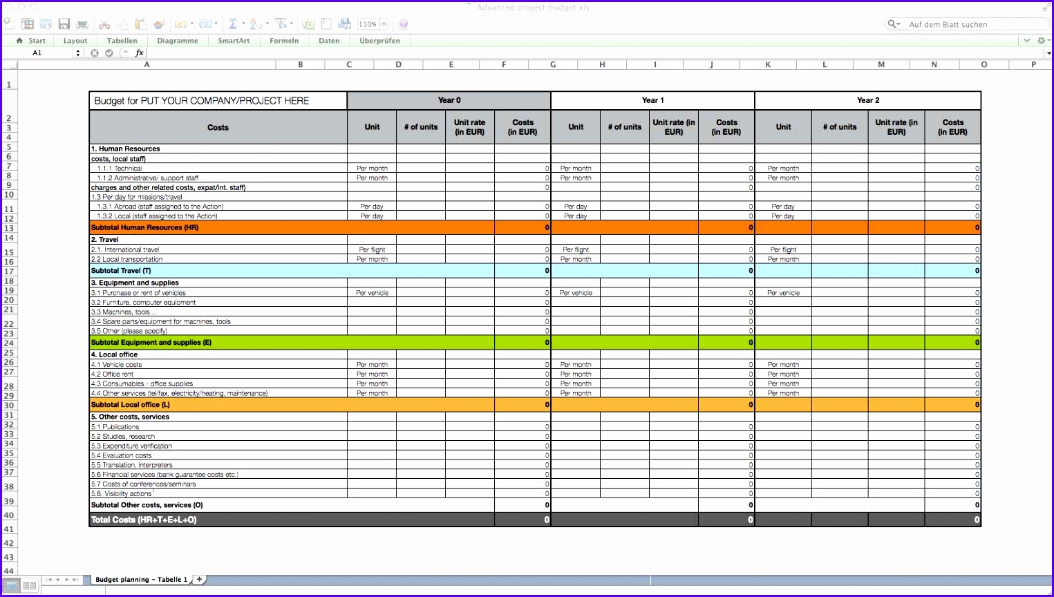 Use Case Template Excel 1525864