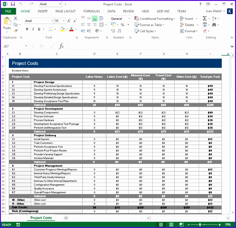 ieee 829 test strategy template - 10 test plan excel template exceltemplates exceltemplates