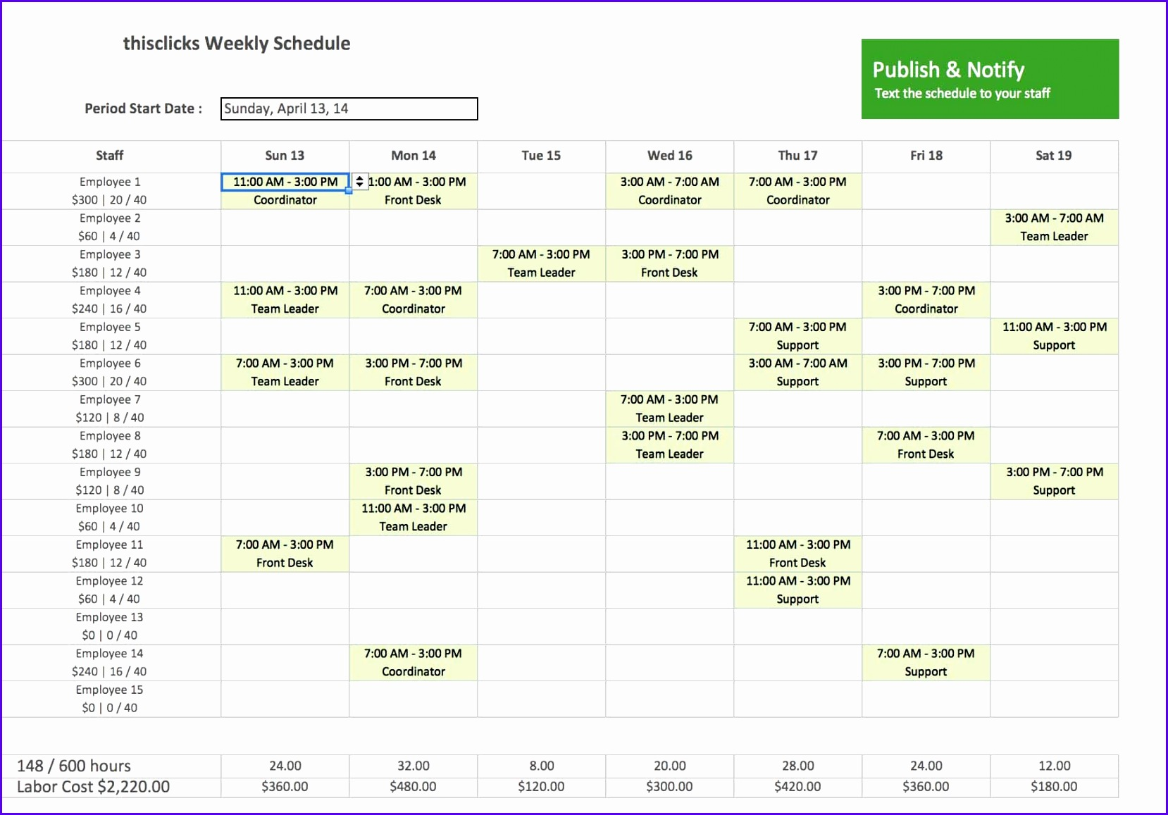 Work Back Schedule Template Excel And Free Monthly Employee Work Schedule Template Excel 16581157