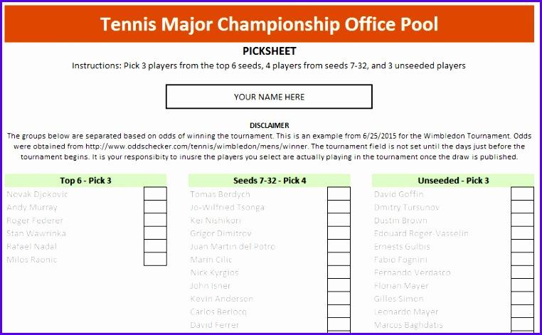 tennis major championship excel template screenshot 1 762471