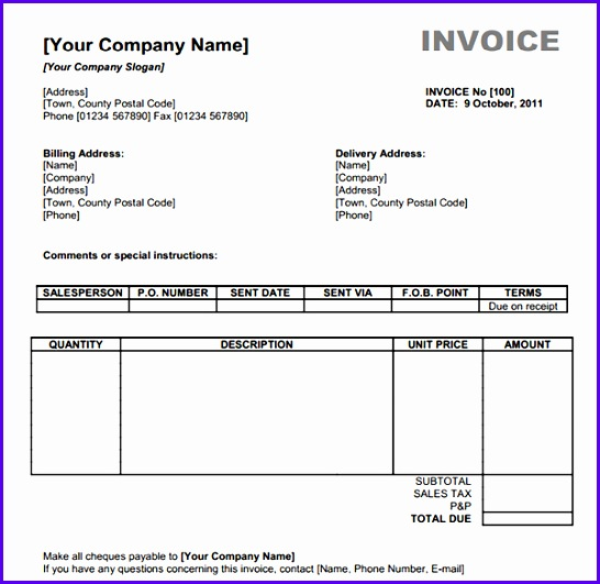Free Invoice Template Download Uk Invoice Example Download Free Invoice Template Uk