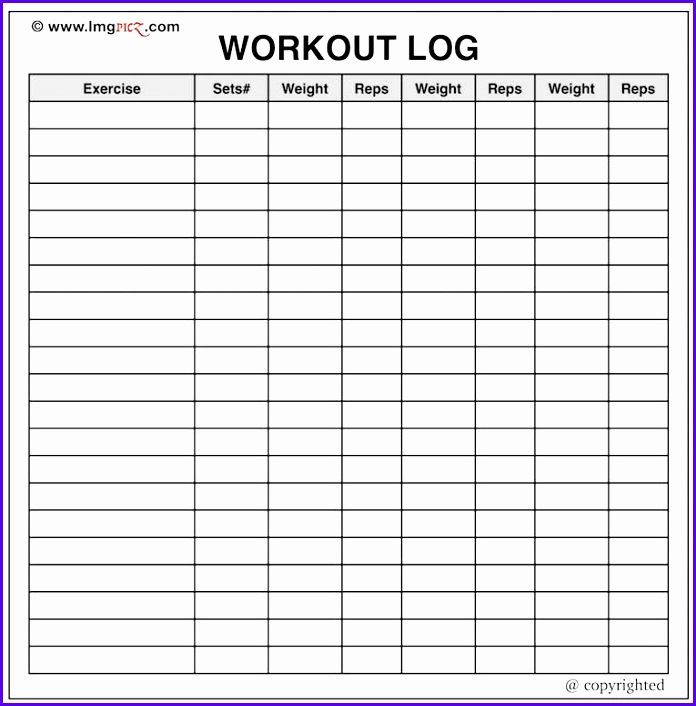 Workout Excel Template  Exceltemplates  Exceltemplates