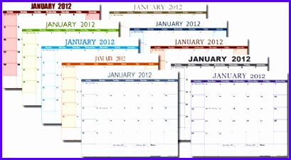 Excel Calendar Template for 2016 and Beyond 409225