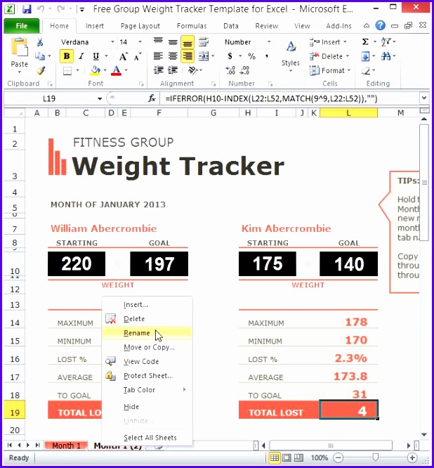 Blood Sugar Tracker Template For Excel 618666