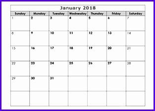 free calendar 2018 template 313224