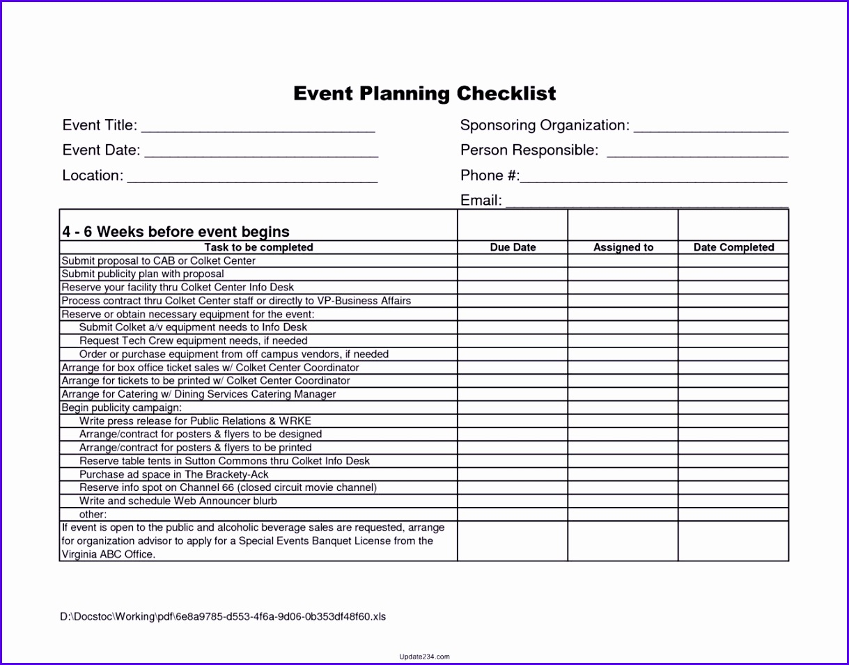 5 checklist template in excel exceltemplates exceltemplates party checklist template excel 1219955 alramifo Choice Image