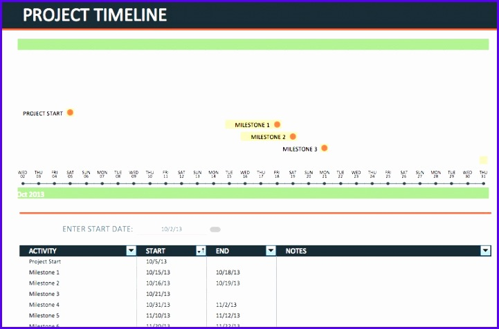 Excel Project Timeline Templates ExcelTemplates ExcelTemplates - Visio project timeline template