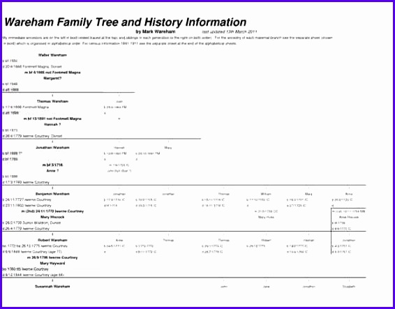 excel family tree template 566443