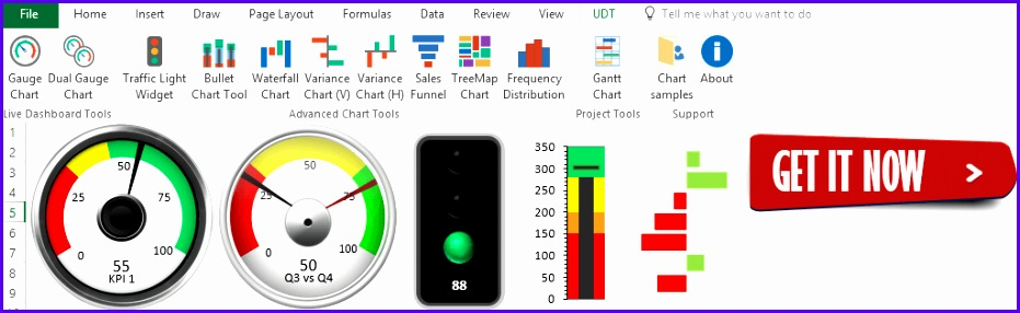 Thanks for your interest in our free excel dashboard templates Join our gauge chart tutorial Turn your data into easy to read kpi dashboard using