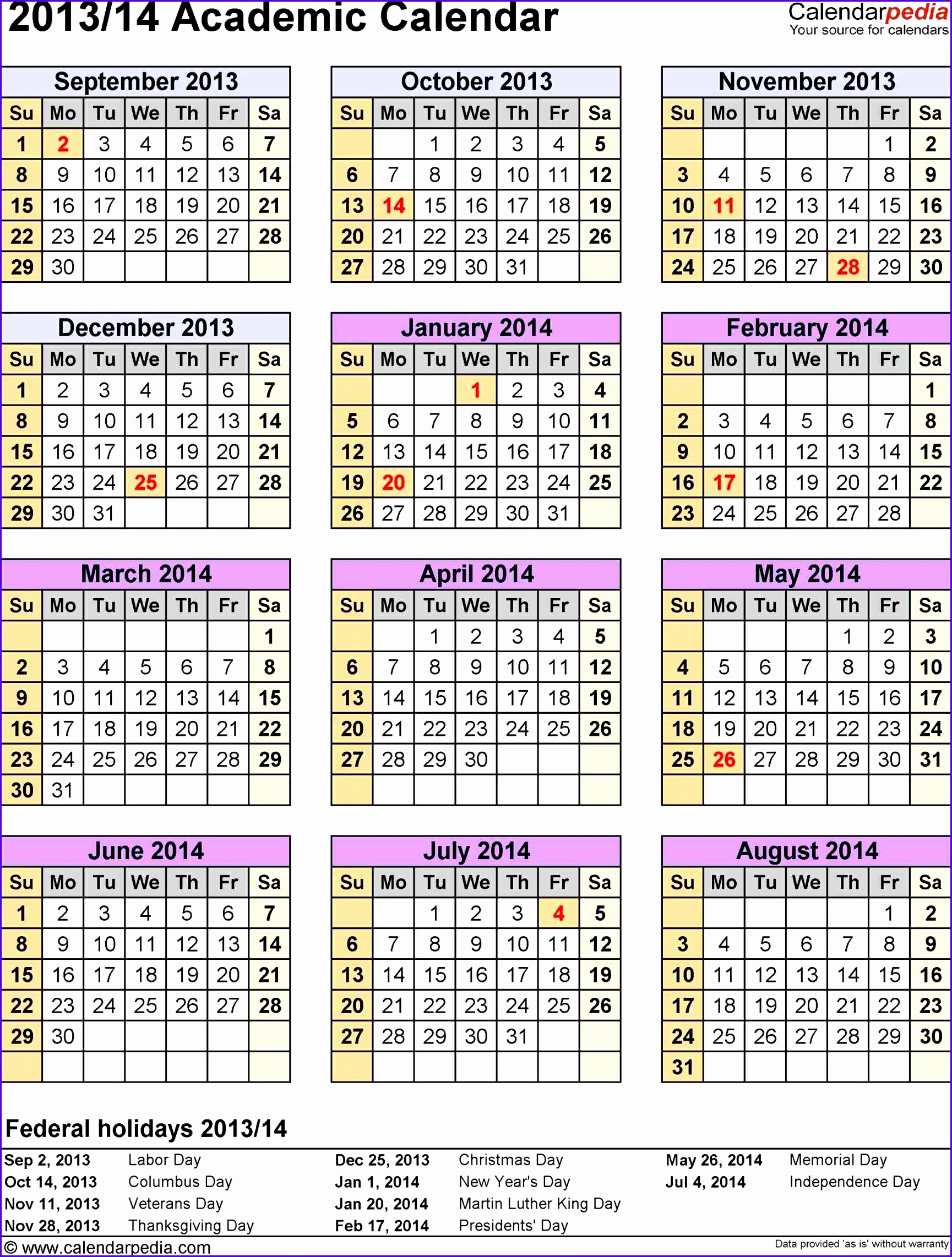 6 excel yearly calendar template 2014 exceltemplates for 4 month calendar template 2014