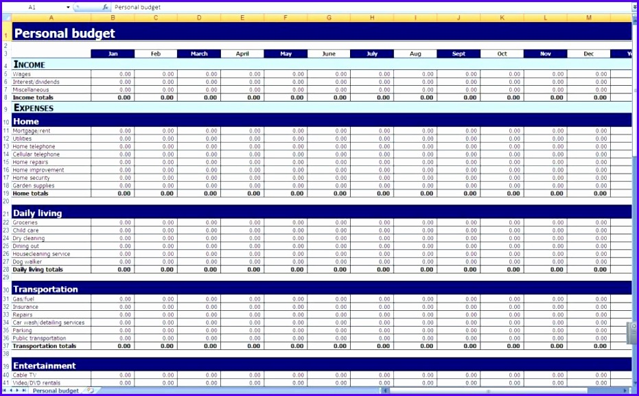 Free Excel Bud Template Spreadsheet Bud Planner Template Uk Home Bud Spreadsheet Template Free Bud Planner