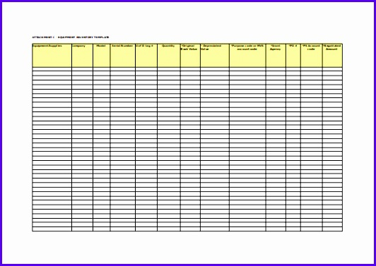 6 Inventory Excel Template Free - ExcelTemplates - ExcelTemplates