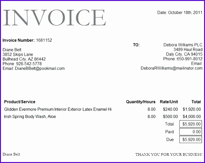 online invoice form bank invoice format excel template free online sample invoice template 669532