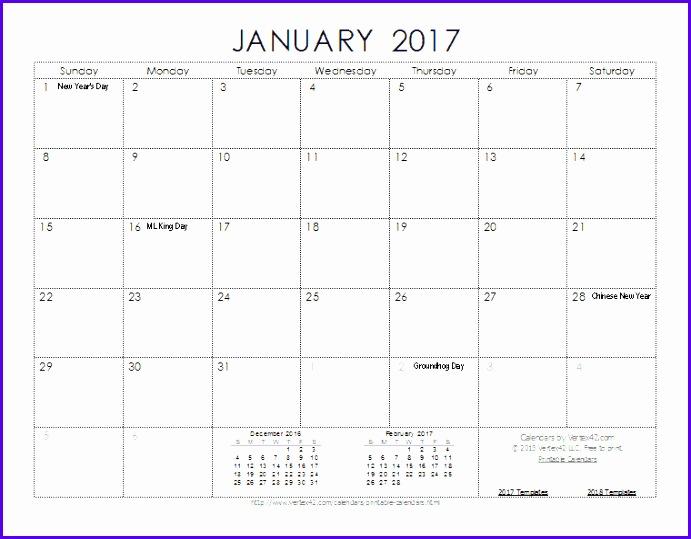 2017 Calendar Template Screenshot 691539
