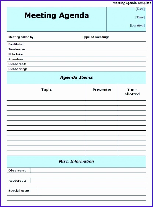 14 minutes of meeting template excel exceltemplates
