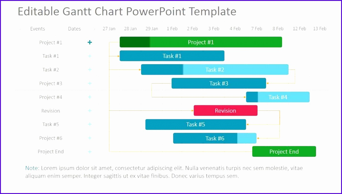 Image for Project Schedule Gantt Chart Excel Template