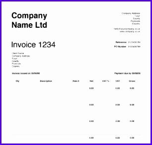 Free Invoice Templates 307293