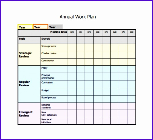 Work Plan Template Excel Free  Exceltemplates  Exceltemplates