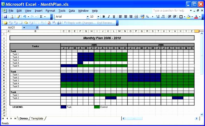 11 Excel 2003 Calendar Template Exceltemplates Exceltemplates