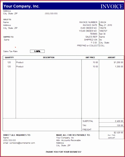 15 microsoft office invoice template 426534
