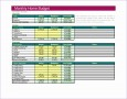 8 Excel 2010 Budget Template