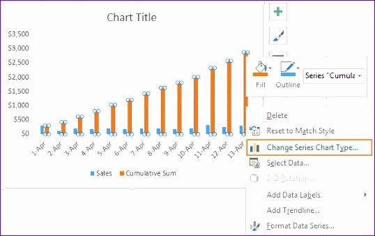excel cumulative sum running total 538338